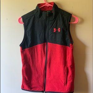 Under Armour zip up fleece vest
